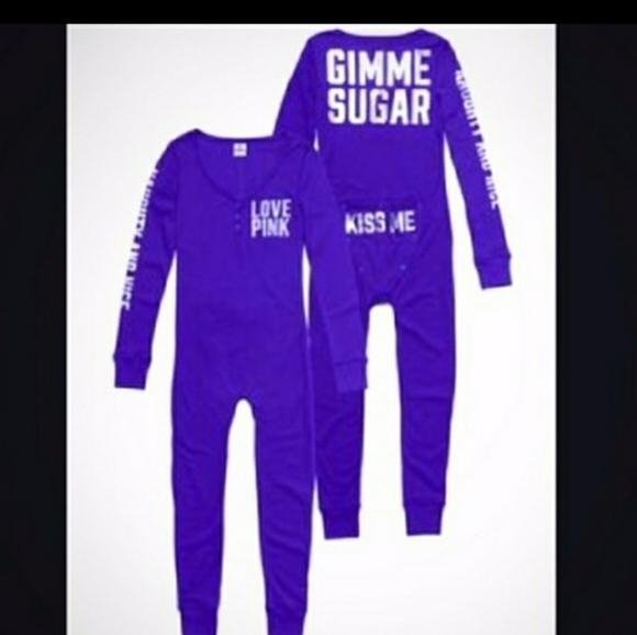 V.S. Pink Other - RARE V.S. PINK Gimme Sugar onesie